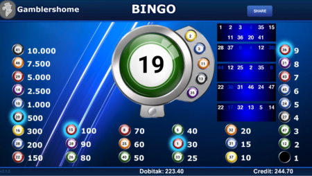 Gamblershome Bingo