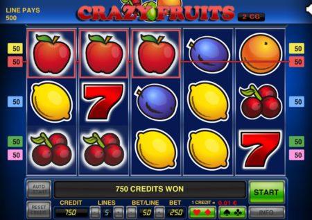 Crazy Fruits Slot