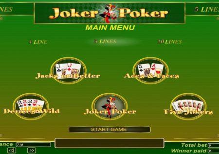 Poker Multigame